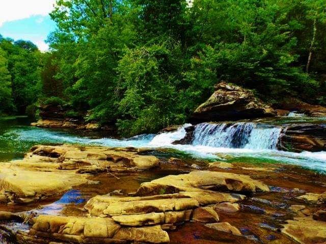 Peaceful River I Am - Art by I AM Studio