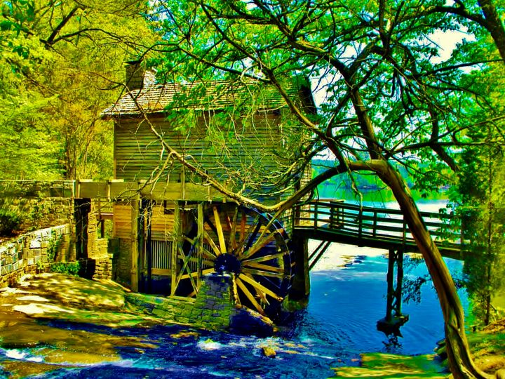 The Grist Mill - Art by I AM Studio
