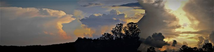 Storm Clouds Panoramic II - Art by I AM Studio