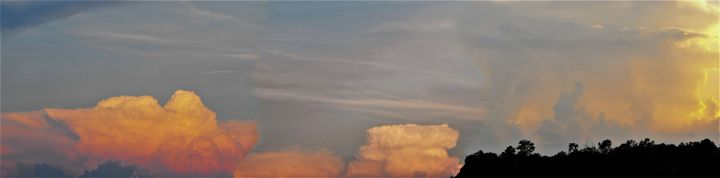 Storm Clouds Panoramic - Art by I AM Studio