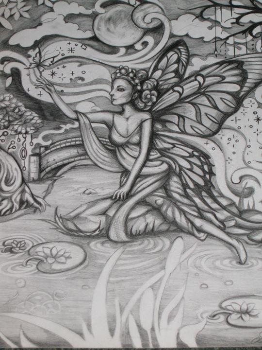 Fantasy fairy - Lillian