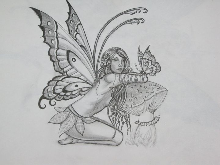 The fairy butterfly - Lillian