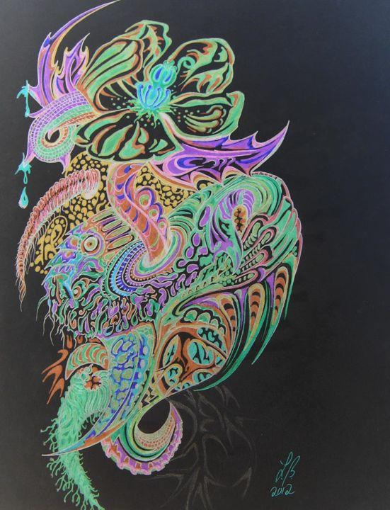Toxic flower - Lillian