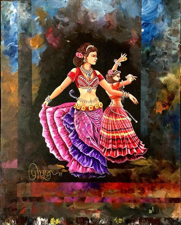 Two Dancers - Peeyush Sharma
