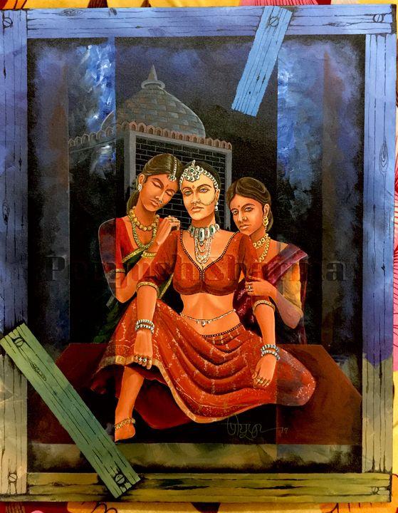 Three Sisters One Mood - Peeyush Sharma
