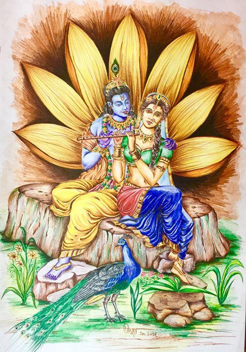 Radha-Krishna - Peeyush Sharma