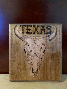 Texas Bull skull