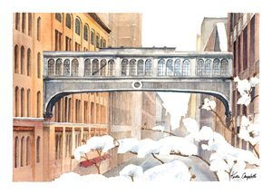 High Line in the Snow n2