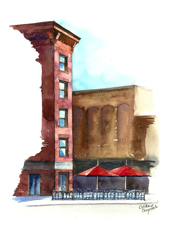 Meatpacking Cafe on the Wedge - Kirsten Compitello