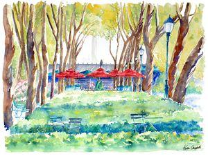 Summer Books in Bryant Park - Kirsten Compitello