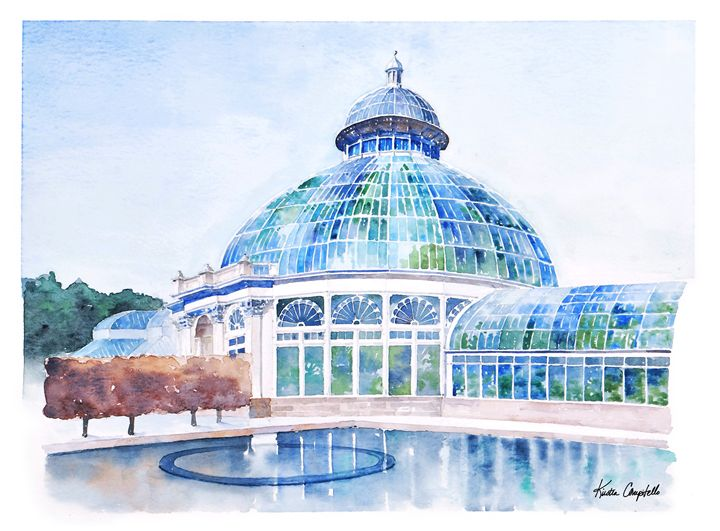 Conservatory at NYBG - Kirsten Compitello