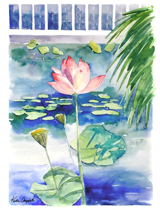 Lily Pond at NYBG - Kirsten Compitello