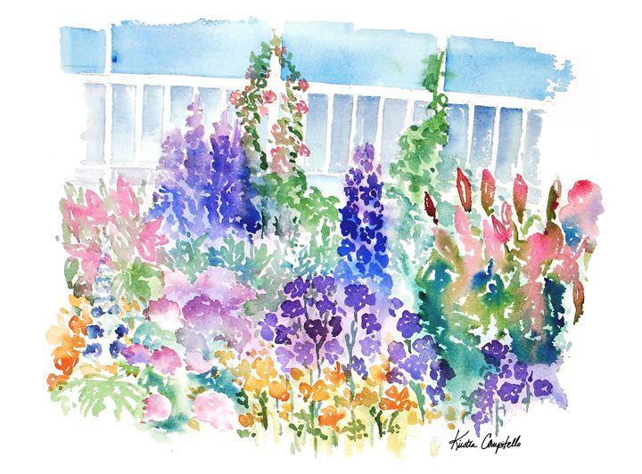 Victorian Garden at NYBG - Kirsten Compitello