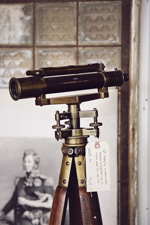1900's telescope - Abstract