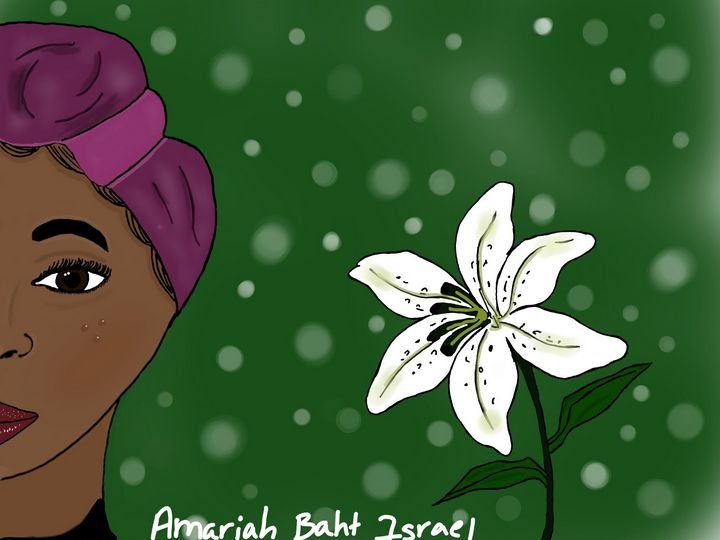 Israelite woman drawing - Amariah Baht Israel