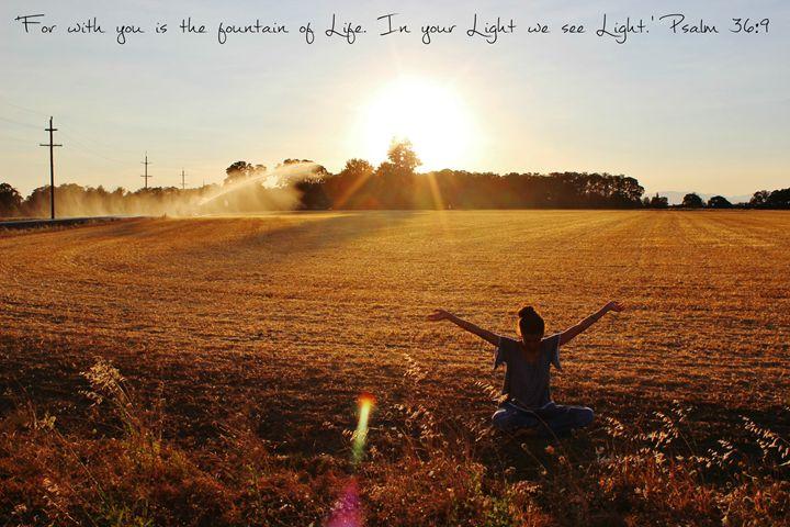 In Your Light - Art by Zoë Lara