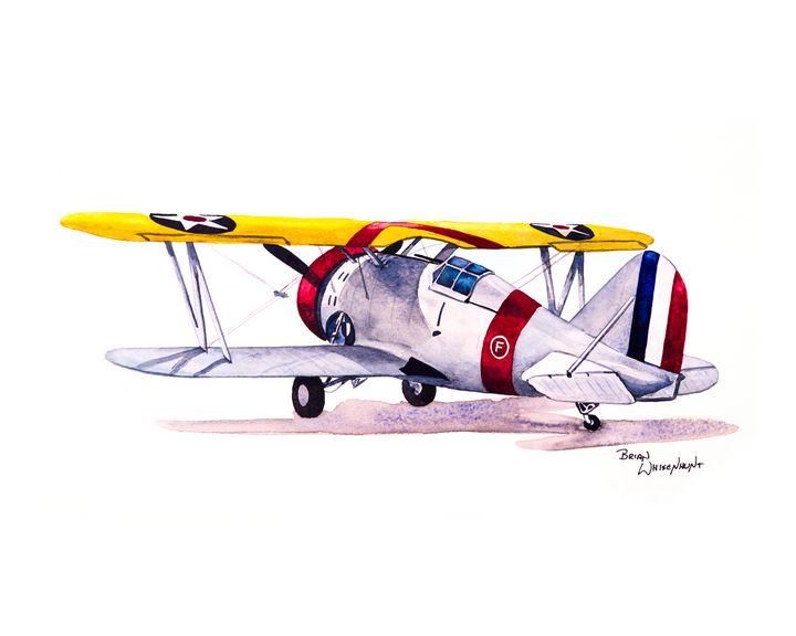 Grumman F3F - BW Studios - The Art of Brian Whisenhunt