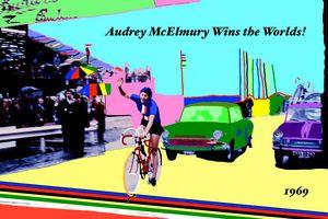 Audrey McElmury Wins the Worlds! - Sandra Wright Sutherland Art