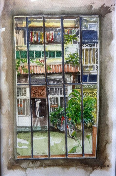 from the window jonker street - Apit Anip Arts
