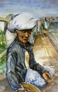 Passion Fruit Seller at Kintamani