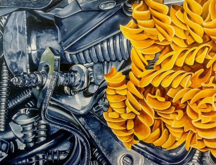 Screwy Pasta - Michael Knapp