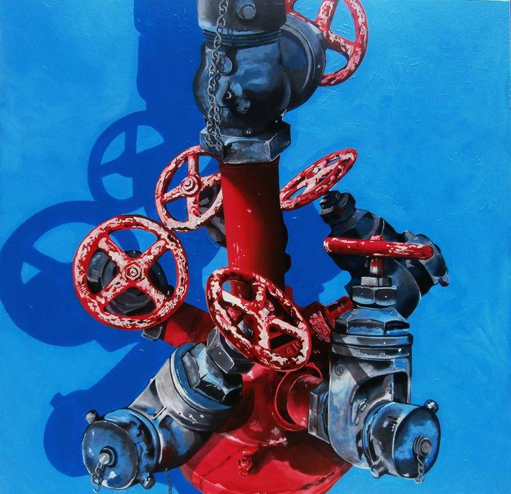 Blue Flow   (SOLD) - Michael Knapp
