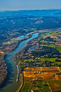 Oregon river