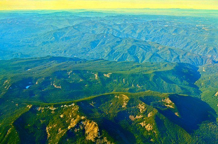 Oregon mountains - Spade Photo