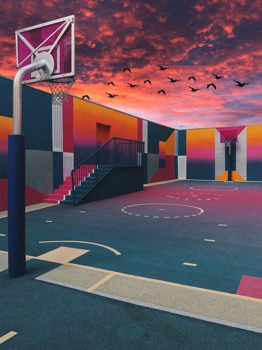 Basketball court - Shaheen