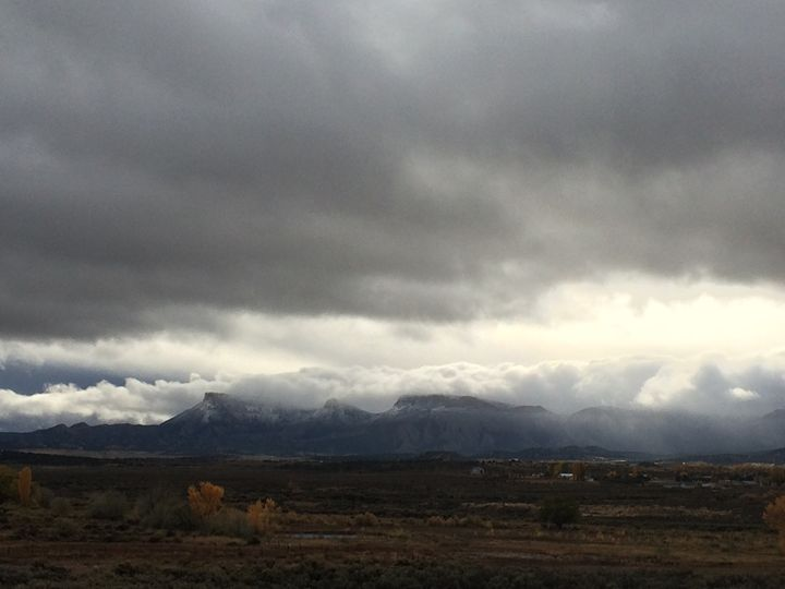 First Snow On The Mesa - Photography by Marcie Lowndes