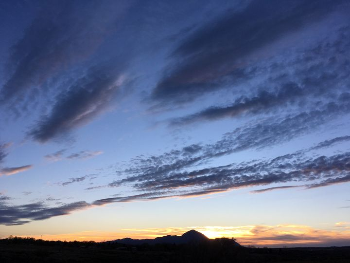 Sunset Over Sleeping Ute 1 - Photography by Marcie Lowndes