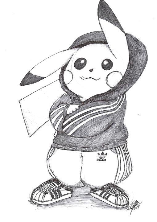 Pikachu Swag - EB.Sketch