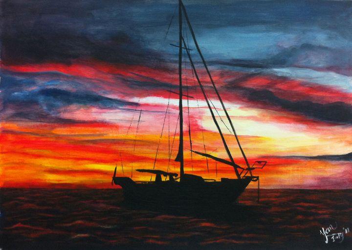 Evening Sailing - Yan Arts