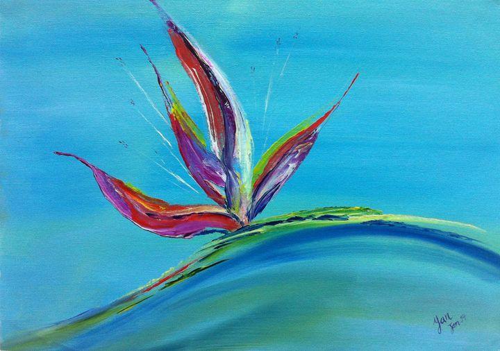 Exotic Flower - Yan Arts