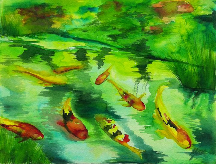 River of Life - Yan Arts