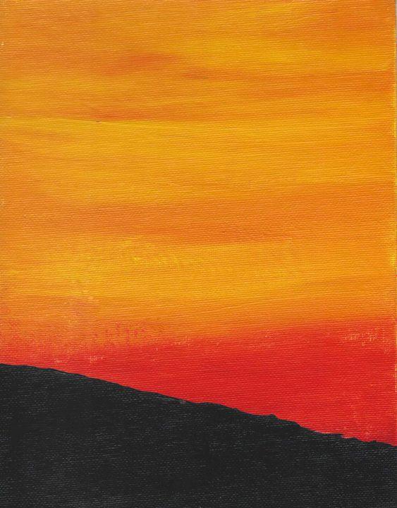 Mimosa Sunset Numero Uno - Miss Lemonade's Canvas