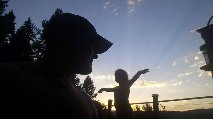Dancing Sunset - Shadow B. Plottin'