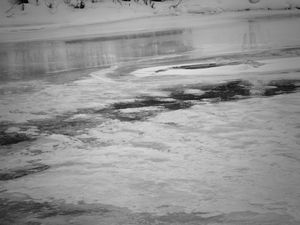 Ice Upon River