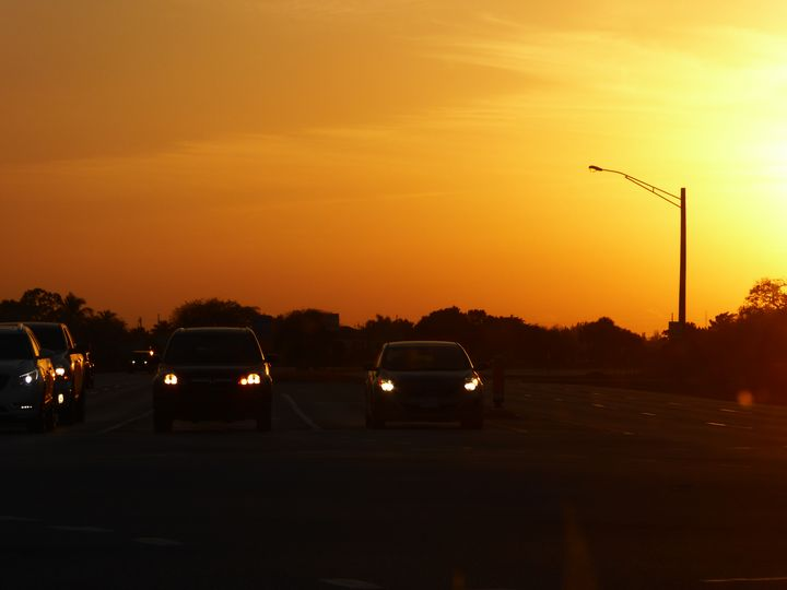 Sunset Drive - Rosa's Photography