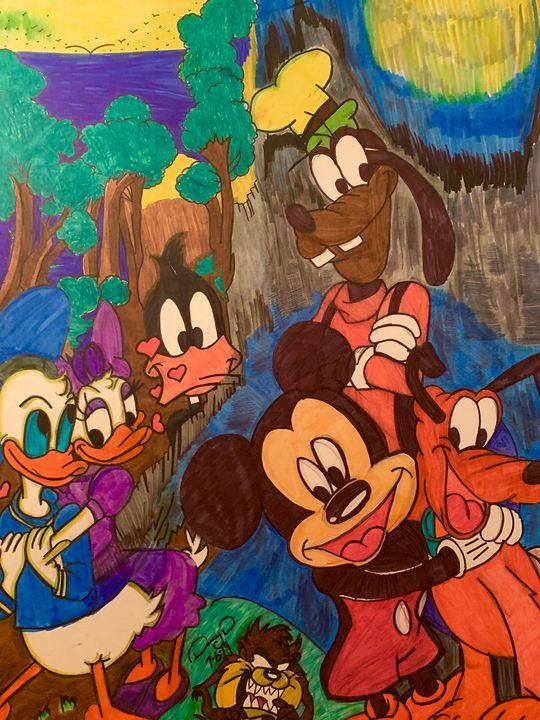 Goofy and friends - Darry Davis