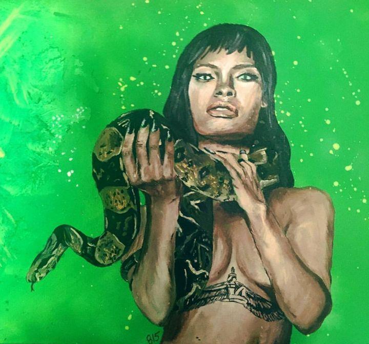 Rihanna medusa - 815 Art