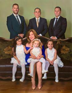 Oil Painting Custom Family Portrait