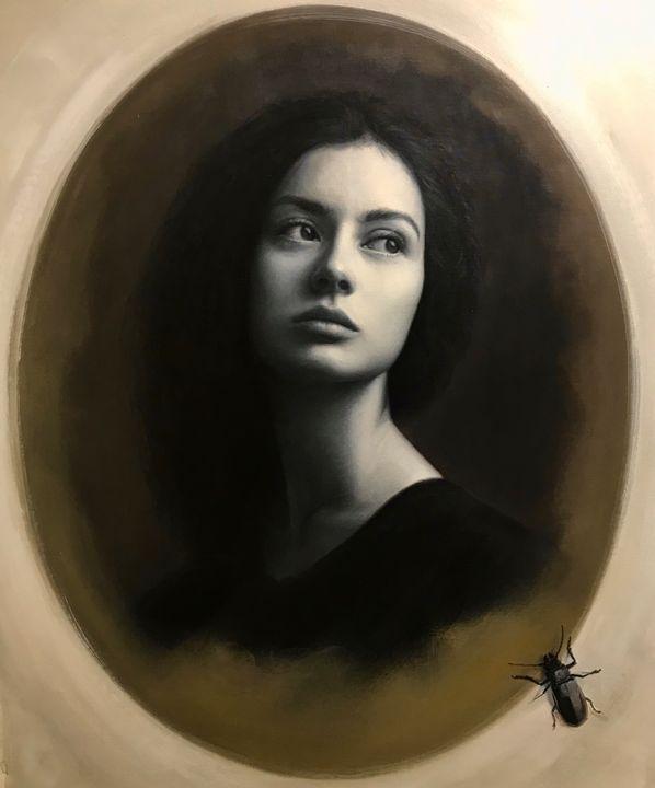 "Oil on Canvas - Title: ""Memories"" - JK Fine Art"