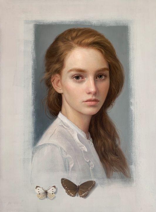 """Oil on Canvas - Title: """"Connection"""". - JK Fine Art"""