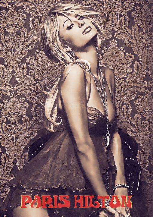 Paris Hilton - Anxhela Sufa