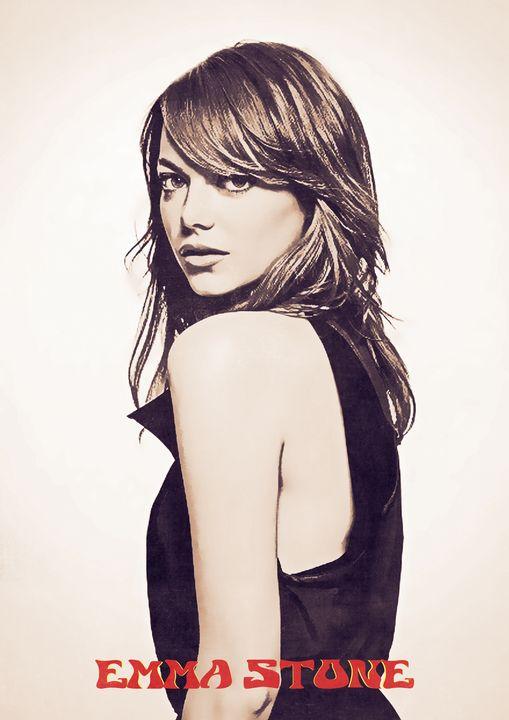 Emma Stone - Anxhela Sufa
