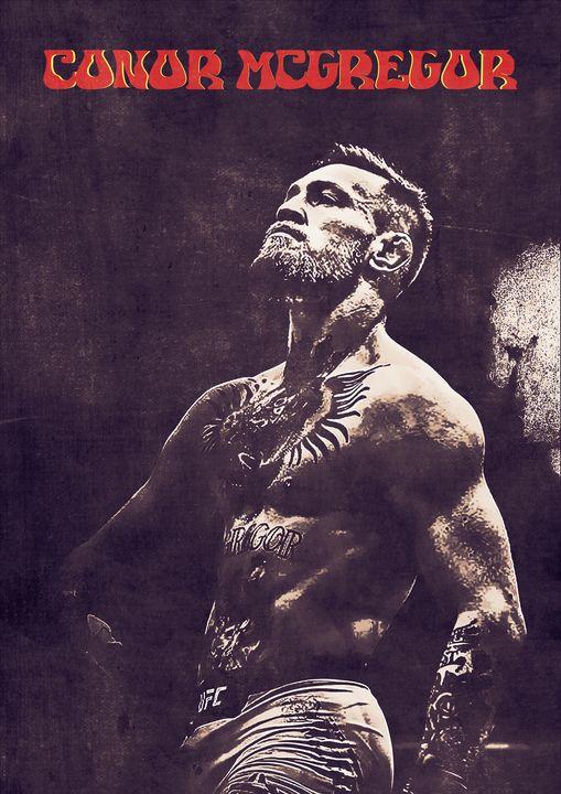 Conor McGregor - Anxhela Sufa