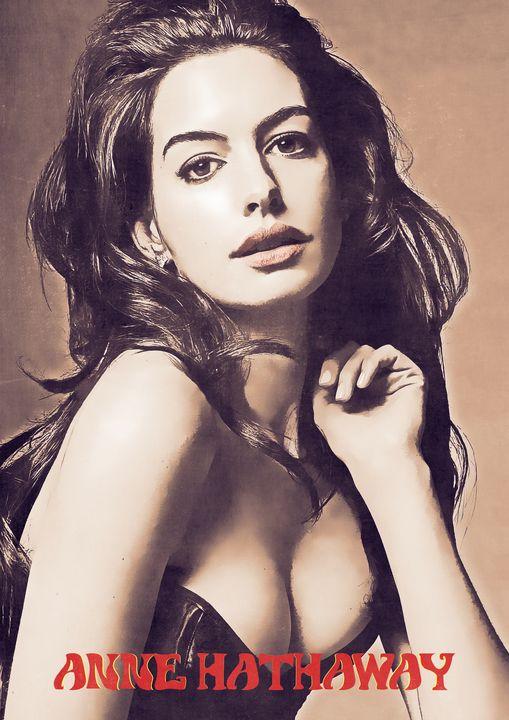 Anne Hathaway - Anxhela Sufa