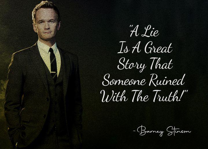 Barney Stinson Quote - Anxhela Sufa