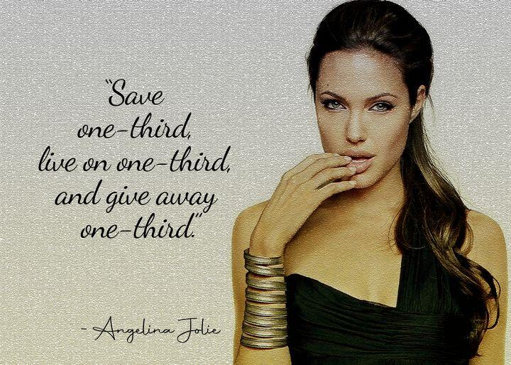 Angelina Jolie Quote - Anxhela Sufa
